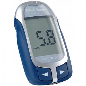 MediSmart Sapphire GlucoMeter